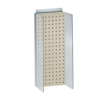 Azar Displays Pegboard Powerwing Display, 8
