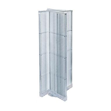Azar 60 x 16-inch Clear Floor Display Pinwheel Spinner