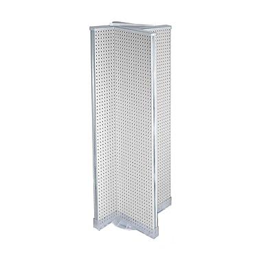 Azar Displays Pegboard Floor Display Pinwheel Spinner, 16