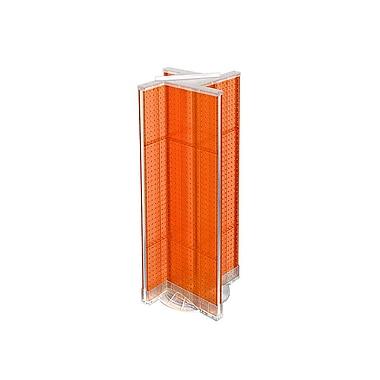 Azar Displays Plastic Pegboard Pinwheel Unit, 13.5
