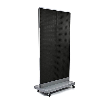 Azar Displays Pegboard Floor Stand, 32