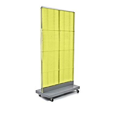 Azar Displays Pegboard Floor Stand, 32