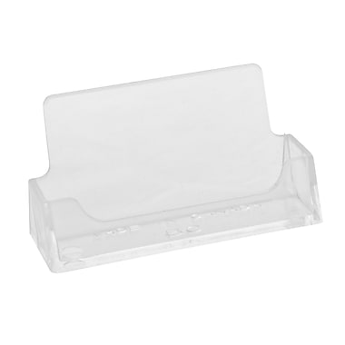 Horizontal Acrylic Business Card Holders