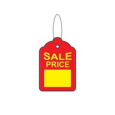 Étiquette de vente FS 1 3/4 larg. x 2 3/4 haut. (po) avec ficelle