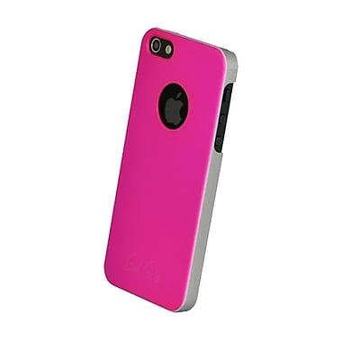 Gel Grip – Étui de la série Fiber pour iPhone 5, rose, IP5FP