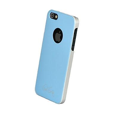 Gel Grip – Étui de la série Fiber pour iPhone 5, bleu pâle, IP5FBB