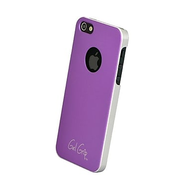 Gel Grip iPhone 5 Fiber Series Shell, Purple, IP5FPL