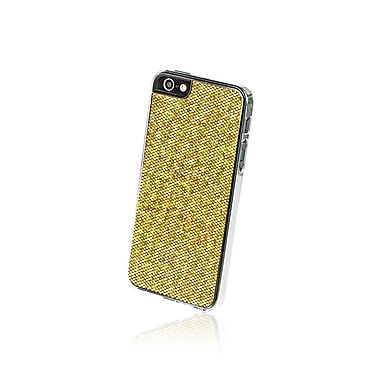 Gel Grip – Étui pour iPhone 5 de la série Glitter, brun, IP5GBR