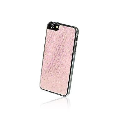 Gel Grip iPhone 5 Glitter Series Pastel Pink Shell, Pink, IP5GPP