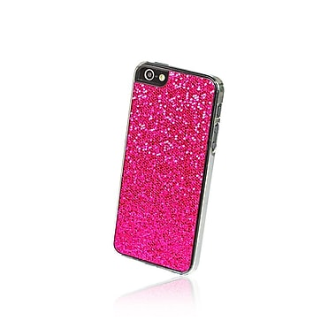 Gel Grip iPhone 5 Glitter Series Hot Pink Shell, Pink, IP5GHP