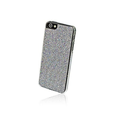 Gel Grip – Étui pour iPhone 5 de la série Glitter, gris, IP5GGY
