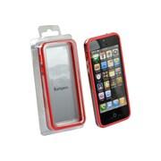 Gel Grip – Étui-cadre pour iPhone 5, rouge, BIP5R