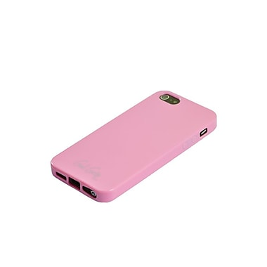 Gel Grip iPhone 5 Baby Pink Candy Gel Skin, Pink, IP5BPKCY