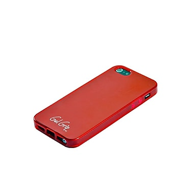Gel Grip – Étui Gel Skin pour iPhone 5, rouge, IP5R
