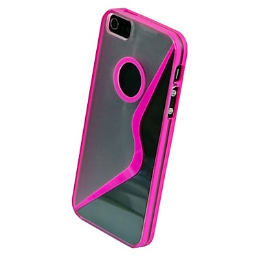 Gel Grip iPhone 5 Pink Sera Shell, Pink, IP5SRPK