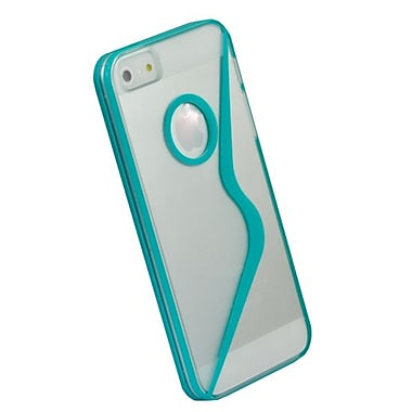Gel Grip iPhone 5 Teal Sera Shell , IP5SRTL