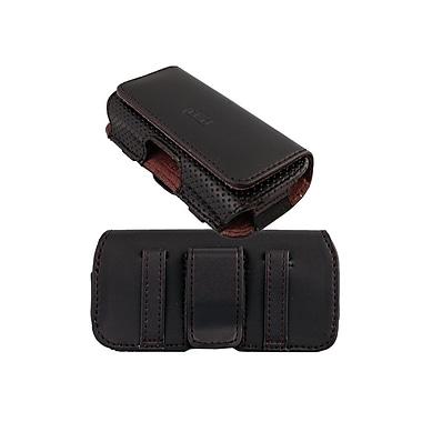 LBT – Étui horizontal de style pochette 404 avec rabat magnétique et pince de ceinture, PO-H404