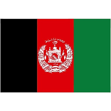 International Flag, Afghanistan, 4