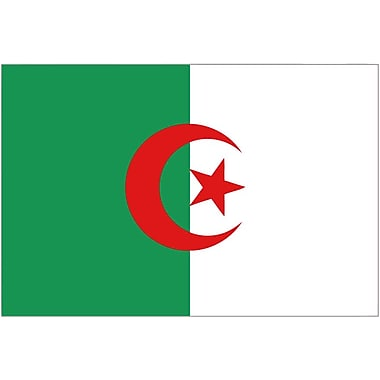 International Flag, Algeria, 36