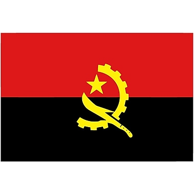 International Flag, Angola, 36