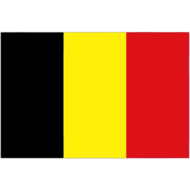 International Flag, Belgium, 36