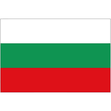 International Flag, Bulgaria, 36