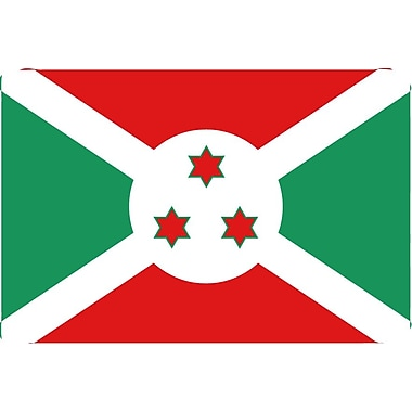 International Flag - Burundi