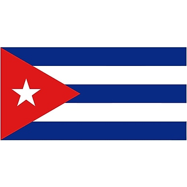 International Flag, Cuba, 36
