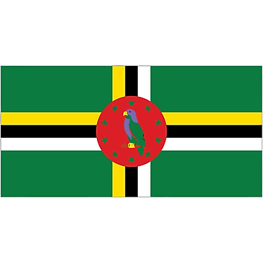 International Flag, Dominica, 36