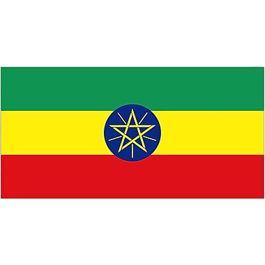 International Flag - Ethioplia (Star)