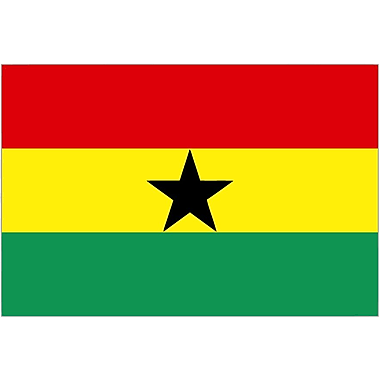 International Flag, Ghana, 36