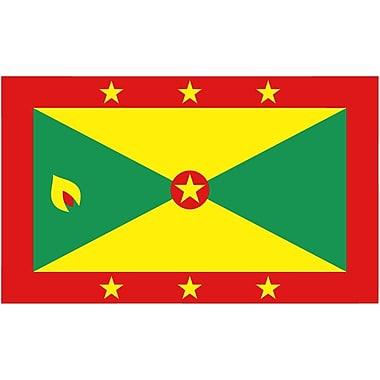 International Flag, Grenada, 4