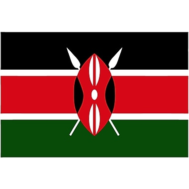 International Flag, Kenya, 36