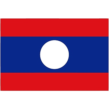 International Flag, Laos, 36
