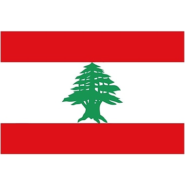 International Flag, Lebanon, 36