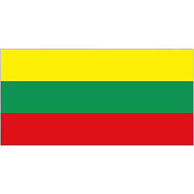 International Flag, Lithuania, 36