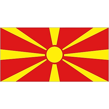 International Flag - Macedonia