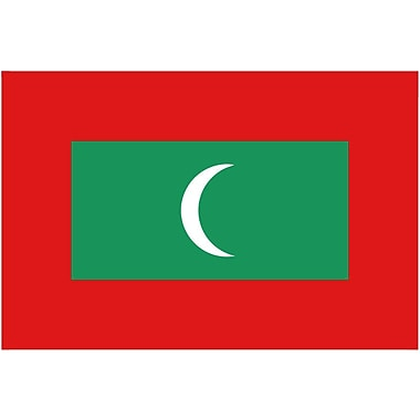 International Flag, Maldives, 4
