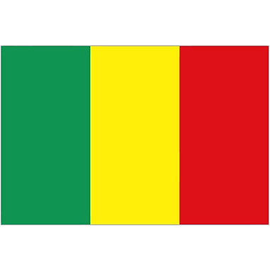 International Flag, Mali, 36