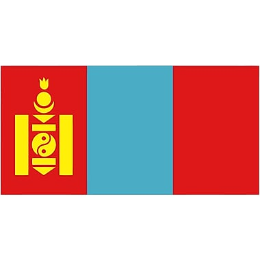 International Flag, Mongolia, 4
