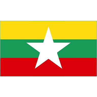 International Flag, Myanmar (New), 36
