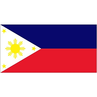 International Flag, Phillippines, 36
