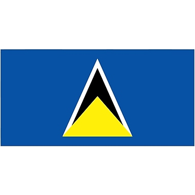International Flag, St. Lucia, 36