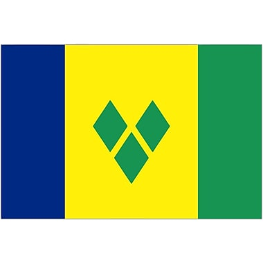 International Flag, St. Vincent & Grenadines, 36