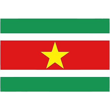 International Flag, Surinam, 4