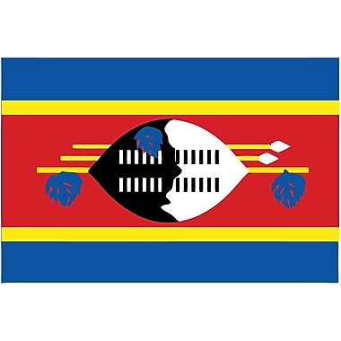 International Flag - Swaziland