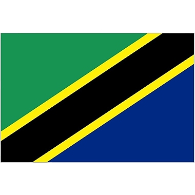 International Flag, Tanzania, 36