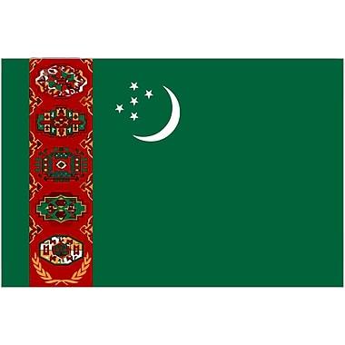 International Flag - Turkmenistan