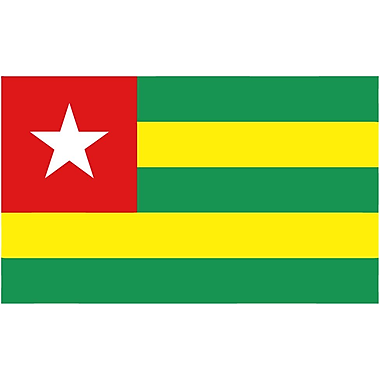 International Flag, Togo, 36