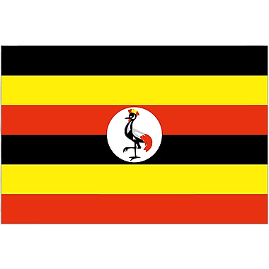International Flag, Uganda, 36